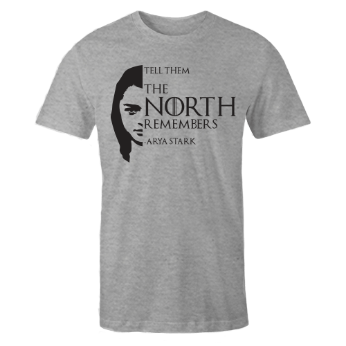 The North Remembers Grey Cotton Shirt