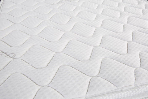 "Oliver Smith® Organic Cotton Euro-Top 8"" Pocket Spring Mattress"