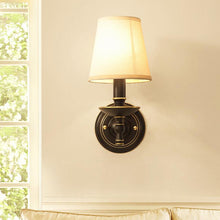 Mercy Wall Lamp Brass Finish At Living Room
