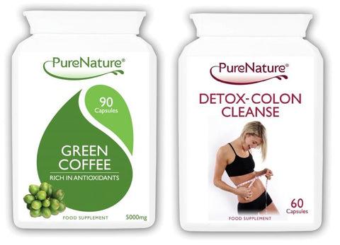 Green Coffee Bean Extract and Detox Colon Cleanse