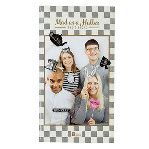 Talking Tables truly alice photo props pack of 13
