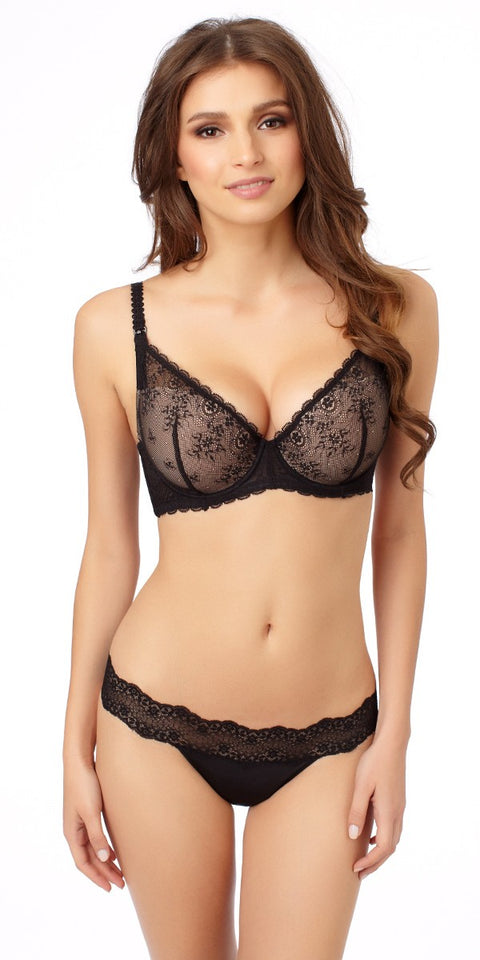 Sexy Mama Nursing Bra - Black Natural