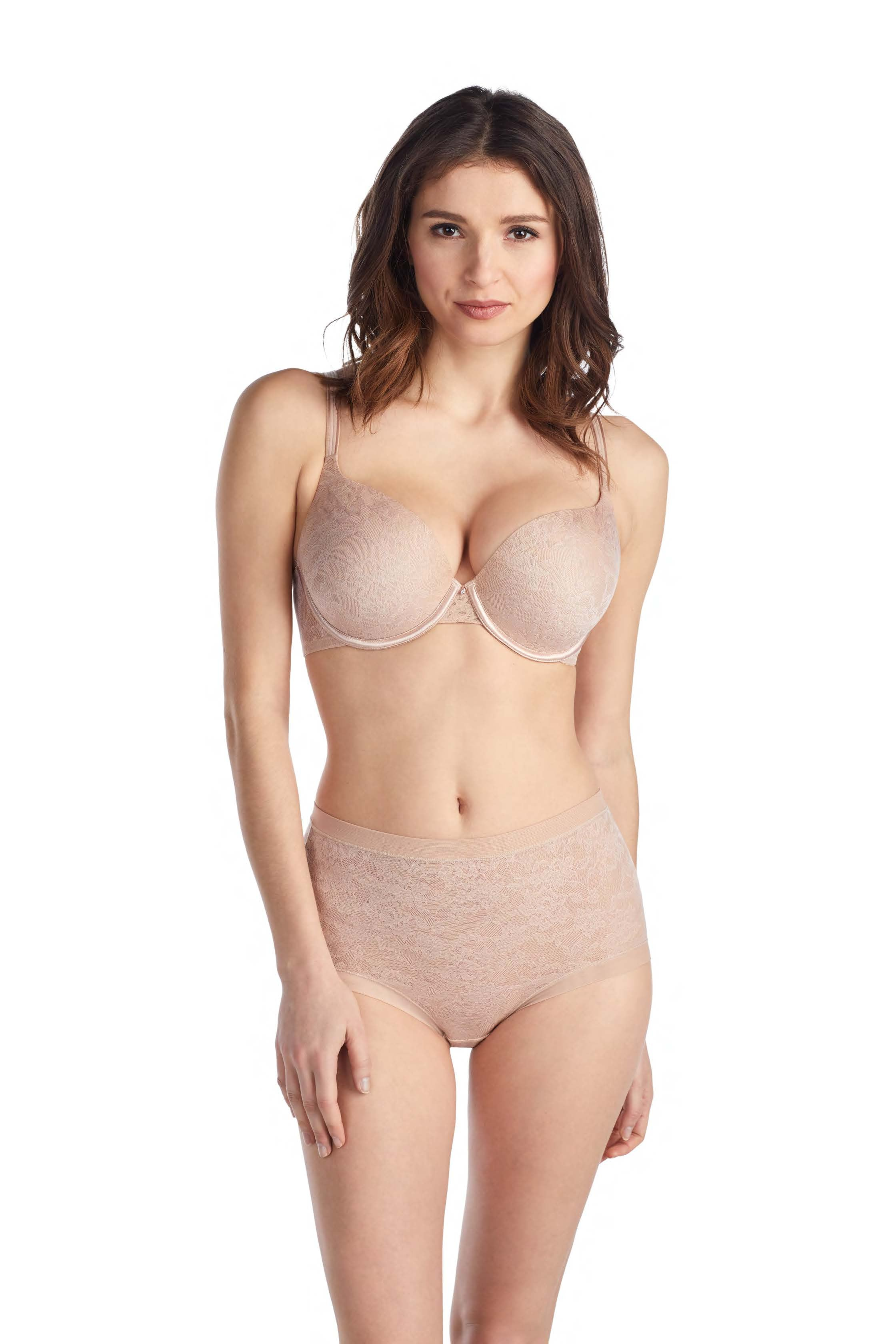 Lace Perfection T-Shirt Bra – Natural