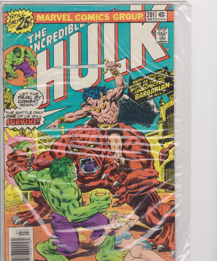 The Incredible Hulk #201 VF + 8.5 - The Dragon's Tail