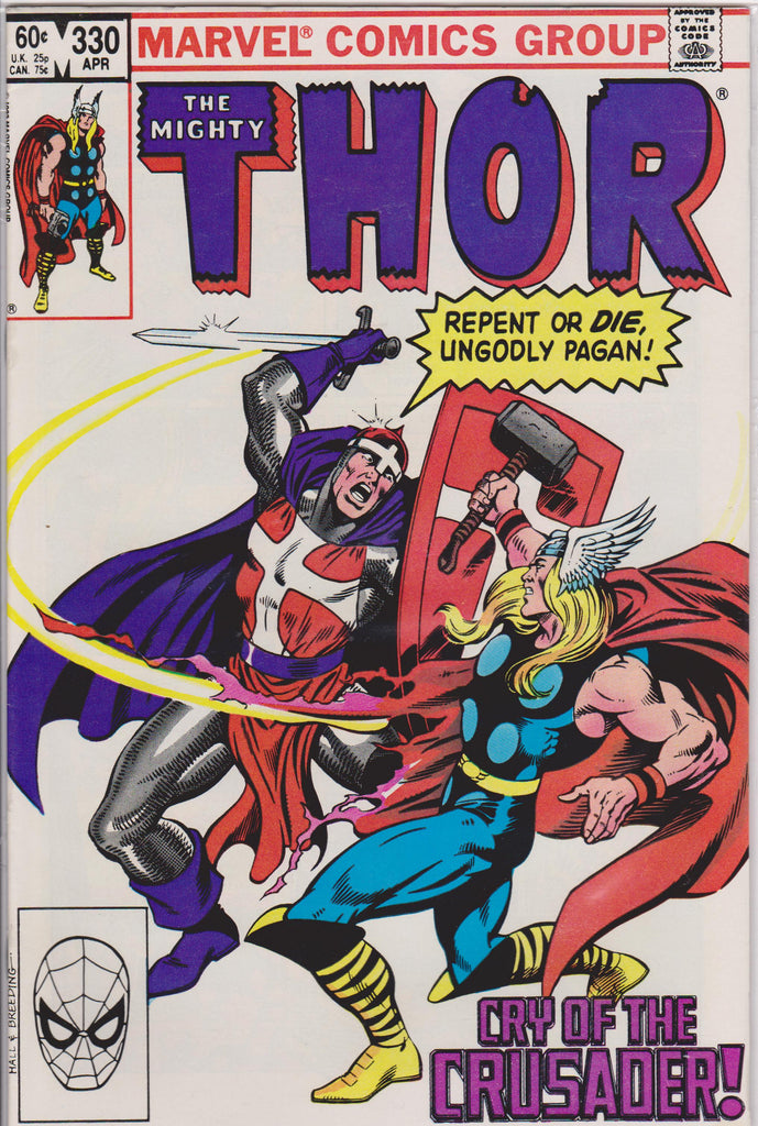 Thor #330 NM 9.4 - The Dragon's Tail