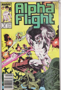 Alpha Flight #51 NM 9.2 - The Dragon's Tail