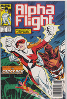Alpha Flight #71 NM 9.2 - The Dragon's Tail