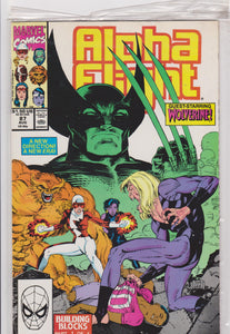 Alpha Flight #87 NM 9.2 - The Dragon's Tail
