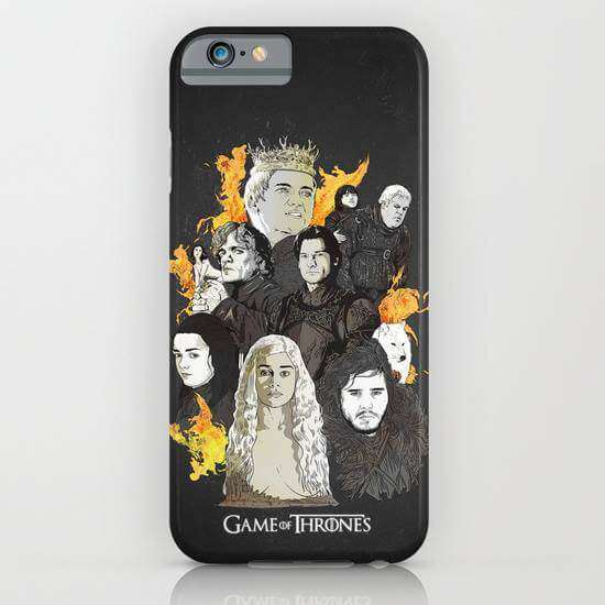 Game Of Thrones Printed Cell Cover - Cell Cover