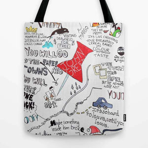 Paper Towns John Green - Tote Bag
