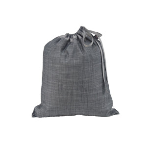 Grey Chambray Travel Pocket