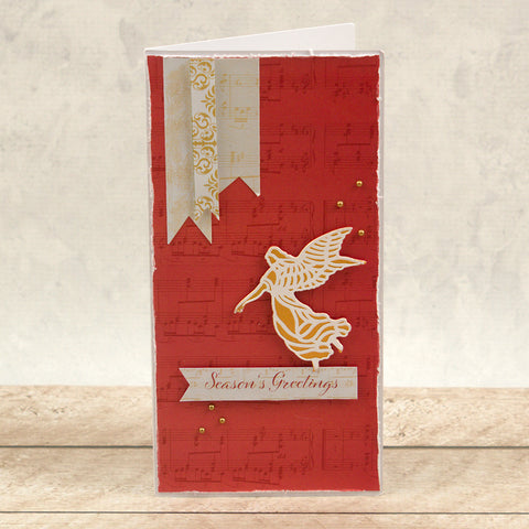Couture Creations -  Cut, Foil and Emboss Die - Naughty or Nice - Angelic