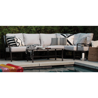Yardbird Colby Outdoor Small Sectional Set Outdoor Furniture