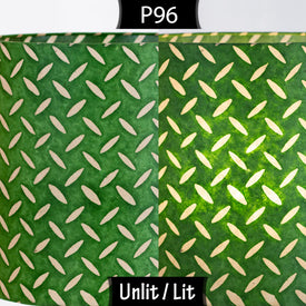 P96 - Batik Tread Plate Green