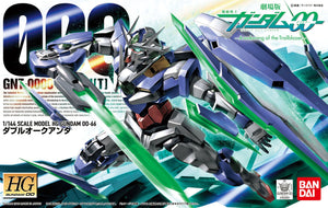Gundam 1/144 HG 00 #66 Gundam 00 Awakening of the Trailblazer GNT-0000 00 Qan[T] Quanta Model Kit