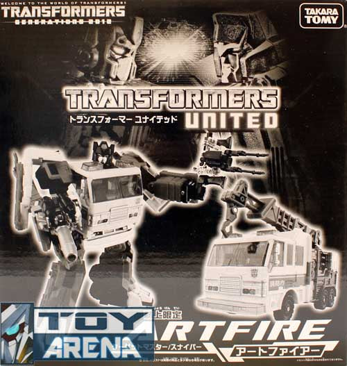 Transformer United Exclusive 2012 Artfire Million Publishing Japan 2012