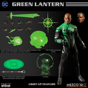 Mezco Toys One:12 Collective: John Stewart Green Lantern Action Figure 1
