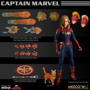 Mezco Toys One:12 Collective: Captain Marvel (2019) Action Figure 1