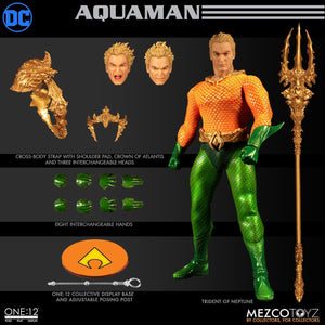 Mezco Toys One:12 Collective: Classic Aquaman Action Figure 1