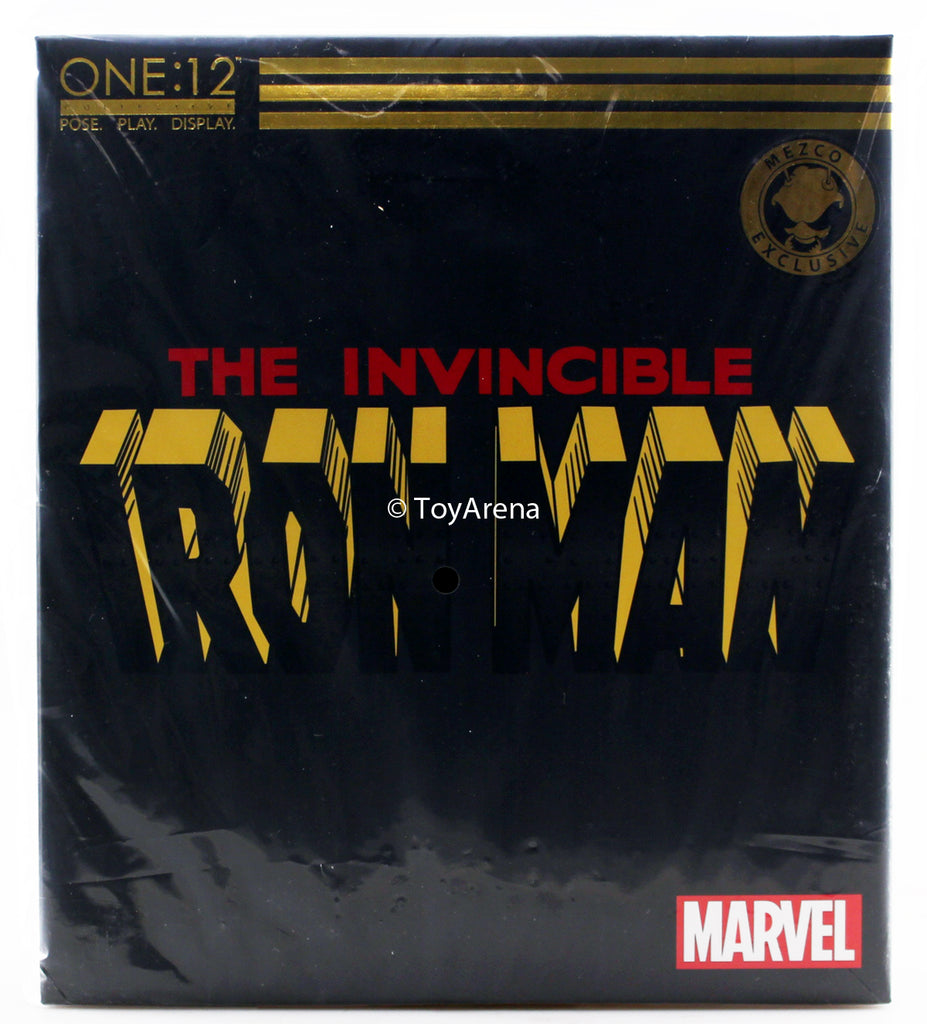 Mezco Toys One:12 Collective: The Invincible Iron Man: Armor Model 42 Edition Action Figure