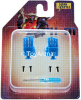 Transformers Masterpiece Fan Style PH-01 Hands Upgrade Kit Blue For MP-19 Smokescreen