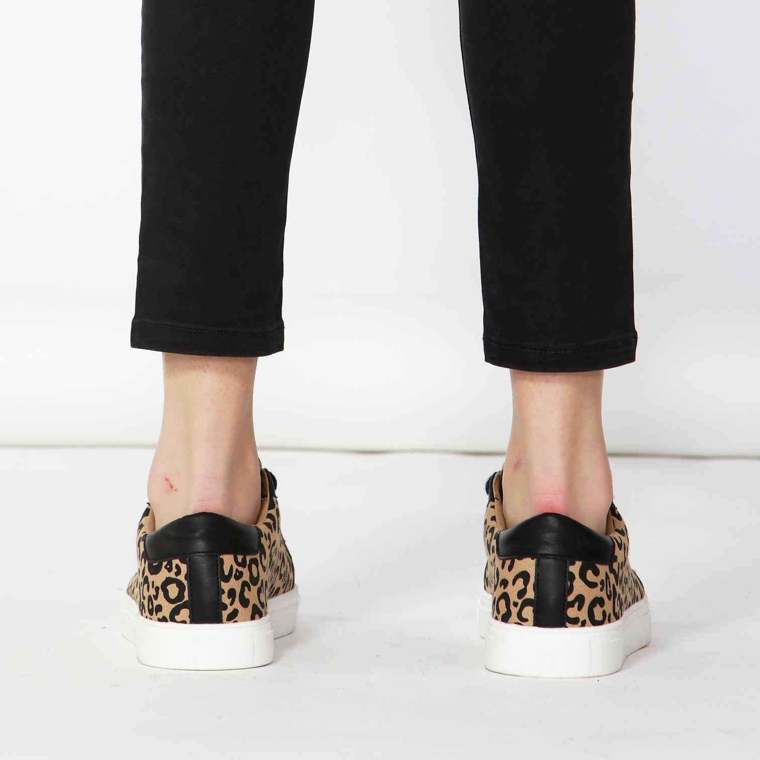Betty Basics Exploration Sneaker in Beige Leopard LAST PAIR Size 6