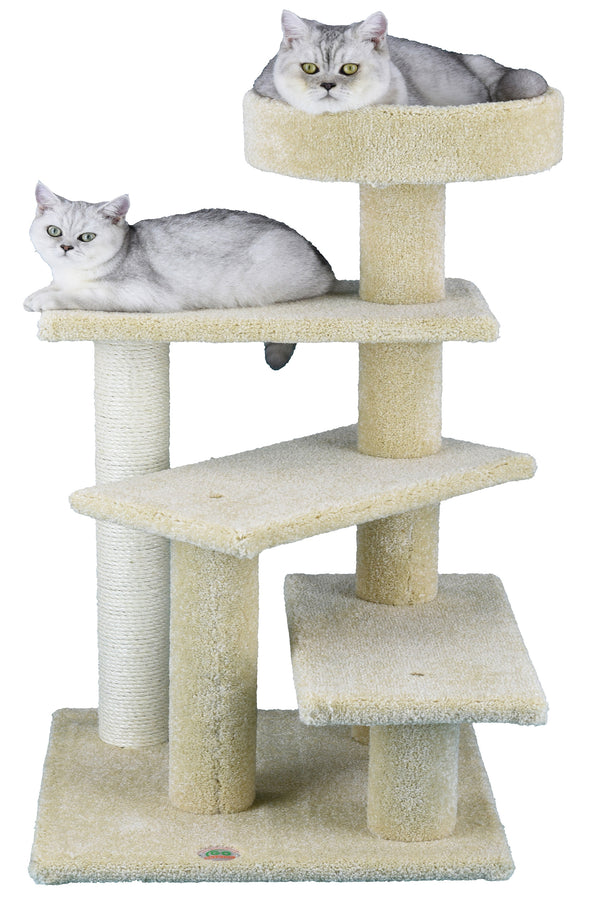 "40"" Premium Carpeted Cat Tree Furniture (LP-837)"