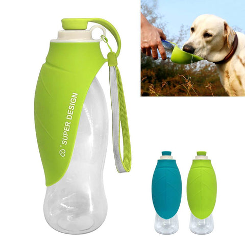 Portable Green Water Bottle