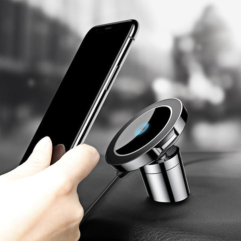 2 In 1 Magnetic Car Mount & Wireless Charger