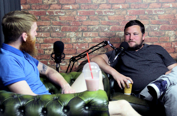 Paddy Holohan & John Connors in the No Shame Studio