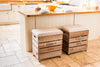 Grey star breakfast bar stool