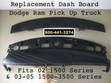 Dodge Ram 2 Piece Dash Top Replacement Fits 02-05 Pick Up  Free Shipping