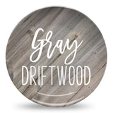 Farmhouse Wood | Personalized Plate