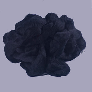 dyed black merino