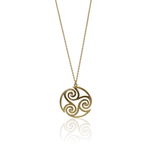 Gold Maori Necklace Necklace