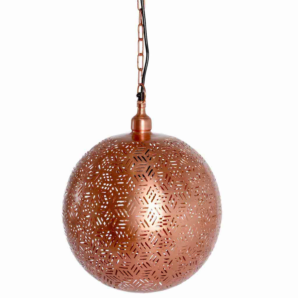 Rose Gold Ball Pendant-Small