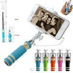Mini Extendable Selfie Stick Monopod For IOS Android Cellphone