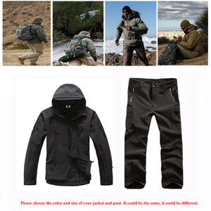 Premium Sharkskin Tactical Waterproof/Windproof Jacket Or Pants