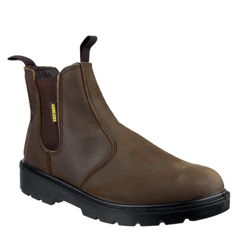 Amblers Safety FS128 Hardwearing Pull On Safety Dealer Boot