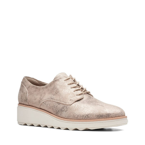 Clarks Sharon Crystal Lace Up Shoe