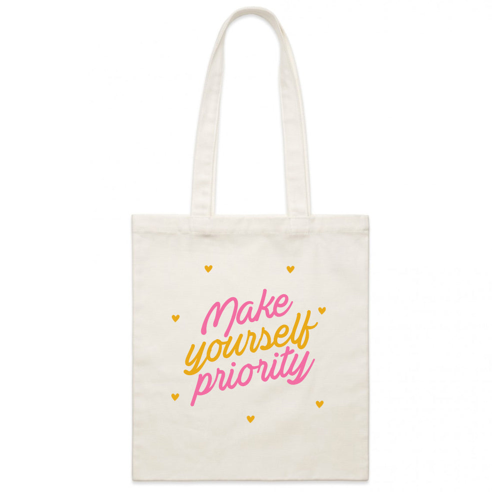 Make Yourself Priority - Tote Bag