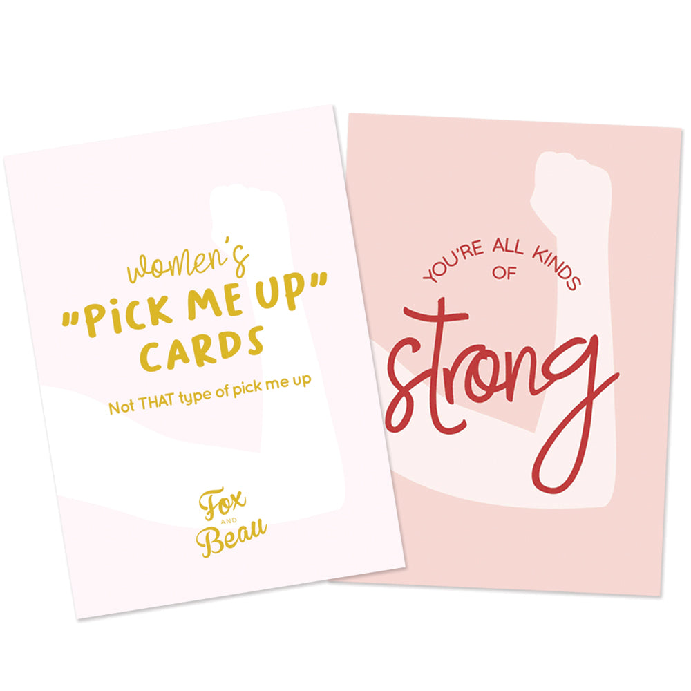 "Women's ""Pick me up cards"" Affirmation Cards"