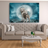 Wolves Canvas - Cotonz Online Shopping