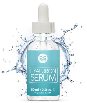 Hyaluronic Acid Anti Aging from Bioniva Anti Falten Hyaluronsäure Anti âge sérum hyaluronique