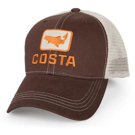 Costa Hats - Trout Trucker (Brown)