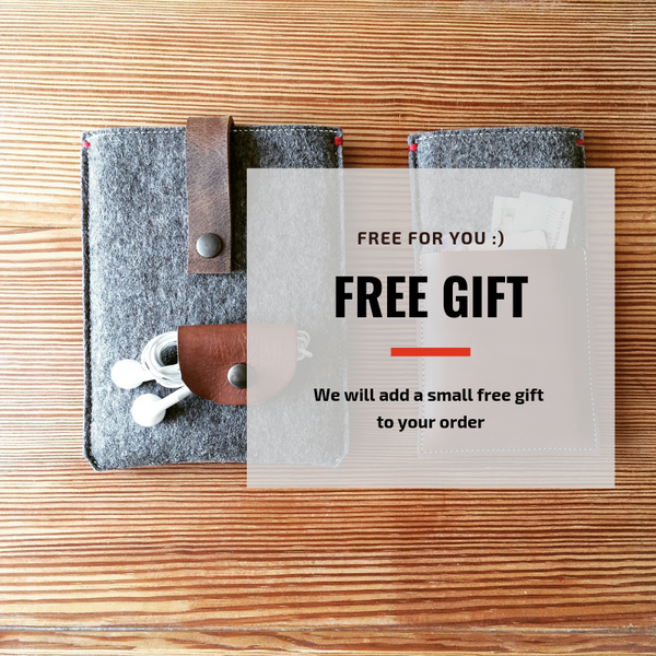 GIFT - let us send you a small surprise with your order