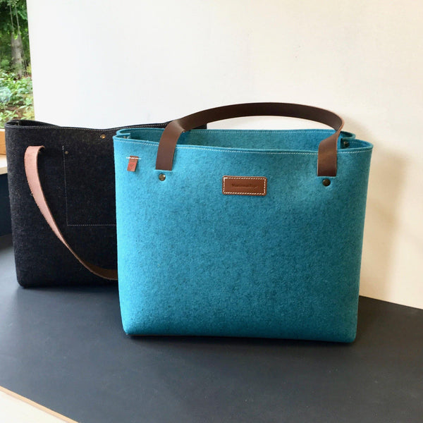 GRIFT XL TAS VILT - in Ocean Blauw