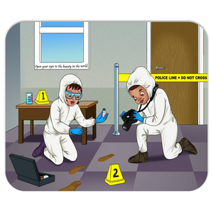 Forensic Scientist Mousepads