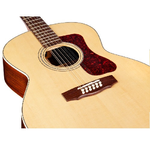 Guild F-1512E Jumbo 12-string Acoustic-Electric Guitar - Natural
