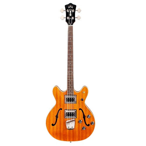 Guild Starfire Bass II Semi-Hollow Electric Bass Guitar - Natural